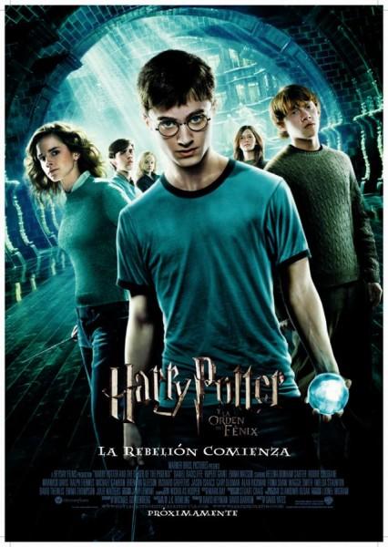 la pelicula de harry potter 5: